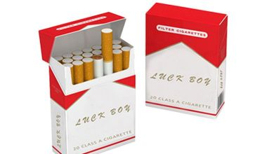 Photo of Elegant Cigarette Boxes for several Cigarette Brands for Effective and Durable Packaging