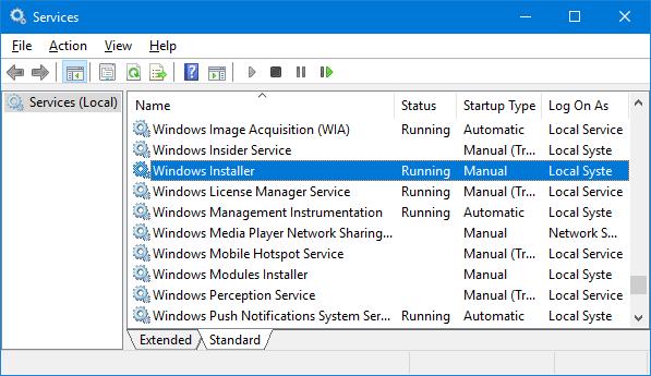 Network Resource Unavailable Error
