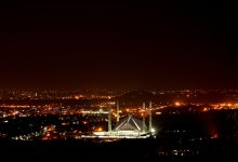 Islamabad During Night
