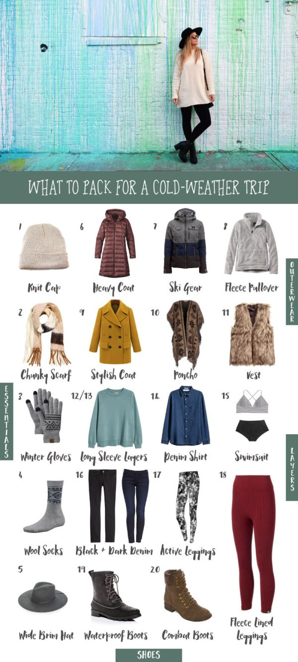 What to Pack for a Cold-Weather Trip • The Blonde Abroad
