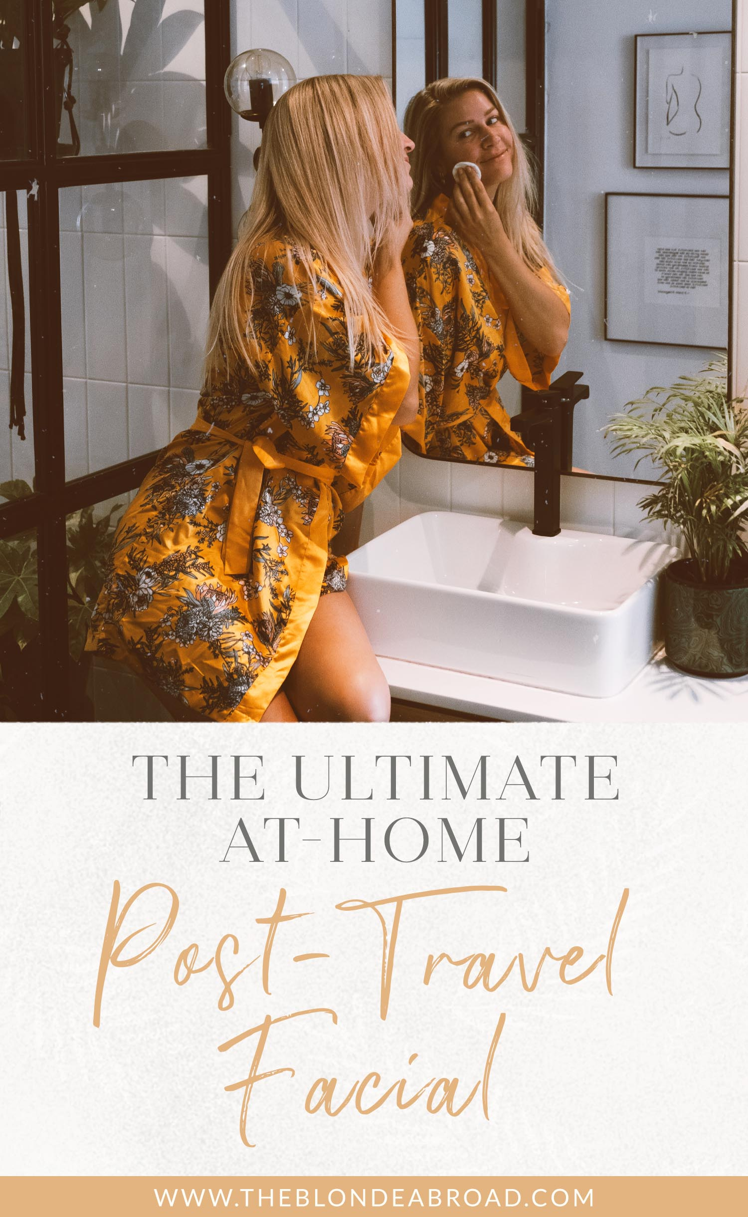 Ultimate AT Home Post Travel Facial
