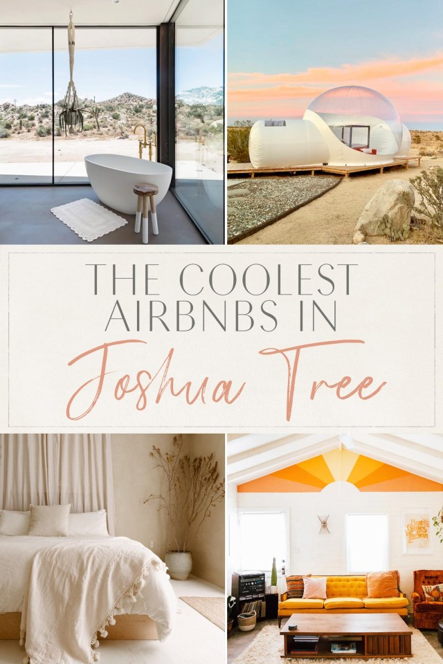 Coolest Airbnbs in Joshua Tree