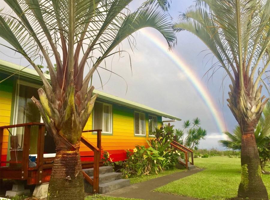rainbow cottage hawaii airbnb