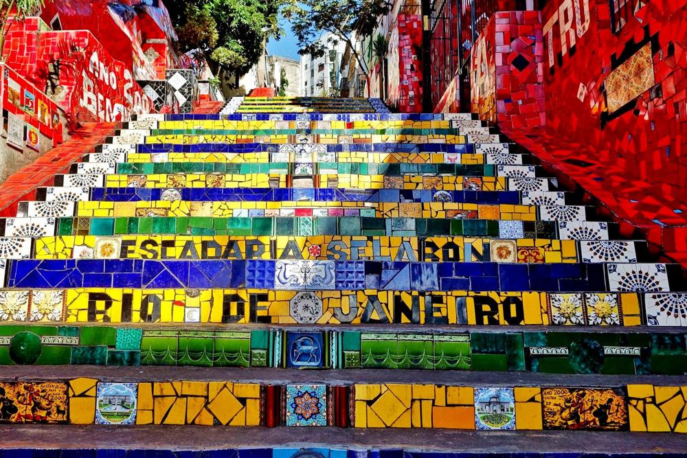 Lapa Stairs Rio