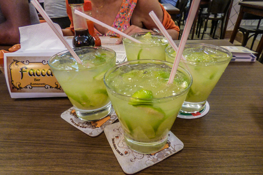 Cocktails in Rio