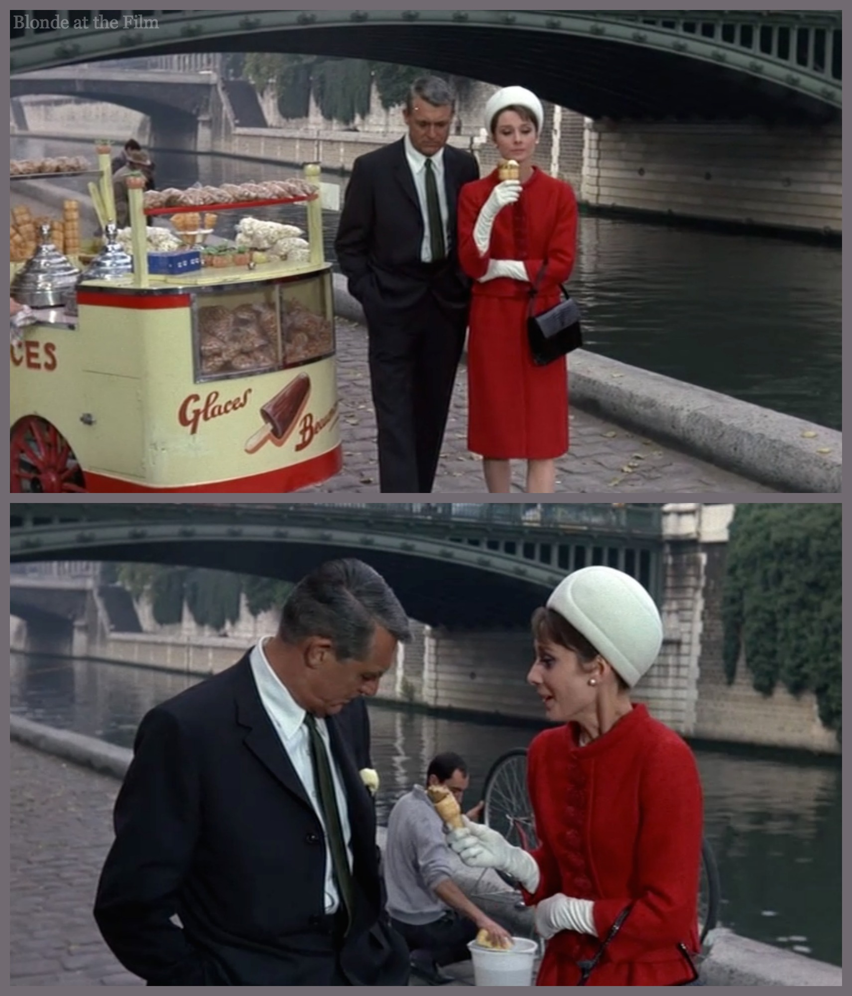 Charade 1963 The Blonde At The Film