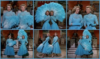 Entertainers in White Christmas