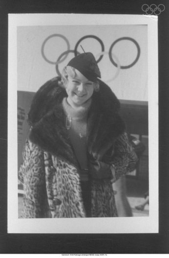Henie at the 1936 Olympics via: http://www.olympic.org/multimedia-player/all-photos/1936/01/01/raadr045/
