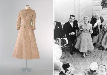 Grace Kelly's Wedding Suit