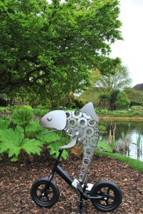 Bristol Botanic Gardens Sculpture Trail Review 2017