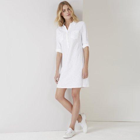 White Company shirt dress pic