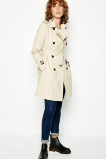 how to style a trench coat fashion with Jack Wills