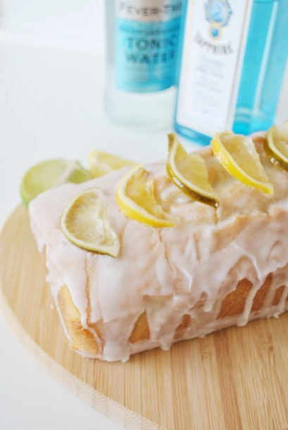 Gin And Tonic Lemon Drizzle Cake 1