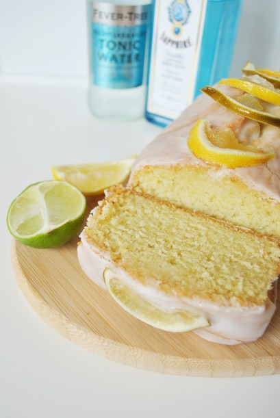 Gin And Tonic Lemon Drizzle Cake 3