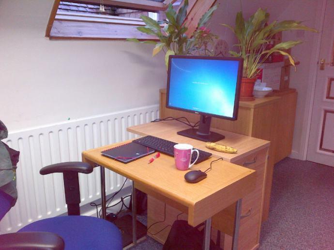 My new desk.