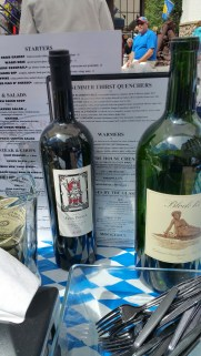 Yes, we show you wine with the menu but we are not selling you wine.
