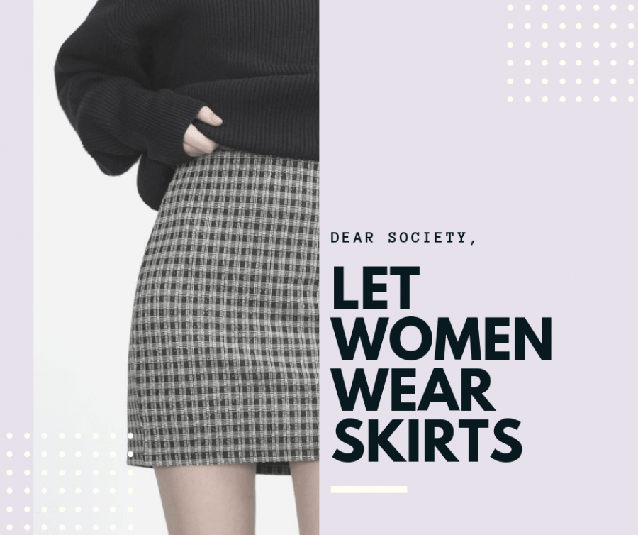 Dear society, let women wear skirts
