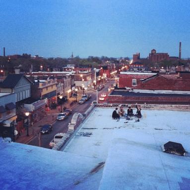 Rooftop Picnic over Cherokee Street