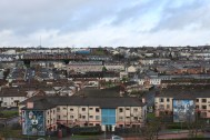 Looking back out over the Bogside.