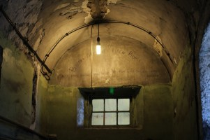 The old wing of Kilmainham Gaol.