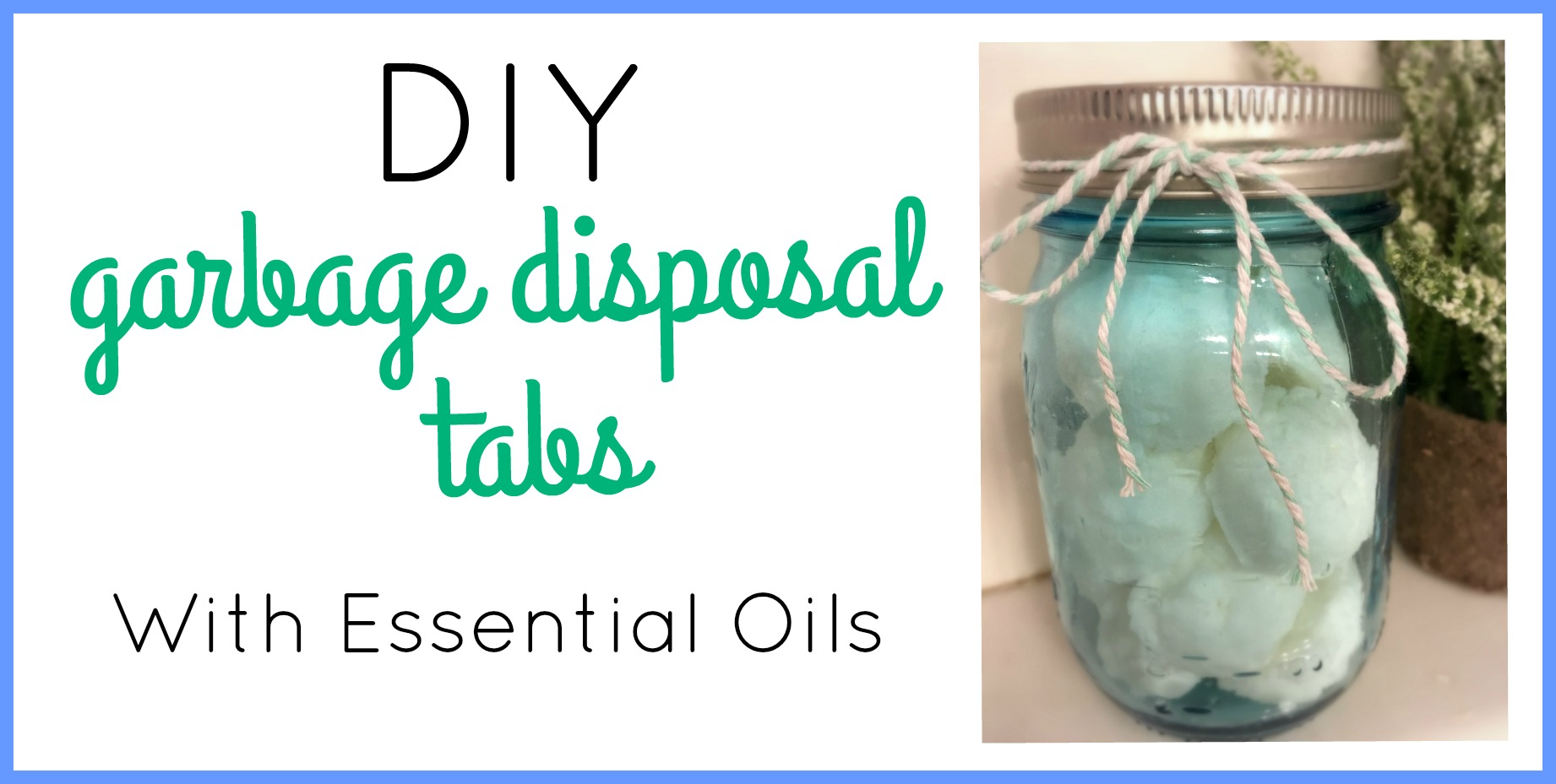 DIY Garbage Disposal Pods