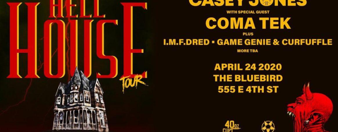 The Bluebird Reno - Hellhouse Tour ft Casey Jones at Bluebird-Future Strange 7 Year Anniversary