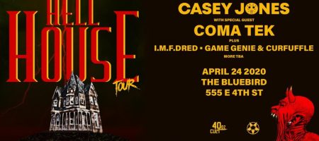 The Bluebird Reno - Hellhouse Tour ft Casey Jones at Bluebird-Future Strange 7 Year Anniversary