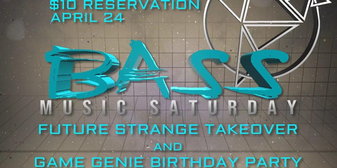 The Bluebird Reno Bass Music Saturday Game Genies Birthday Party Future Strange 8 Year Anniversary 2021 Reno NV
