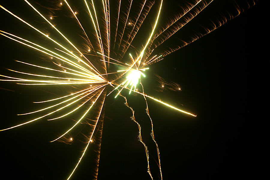 Sparkling Fireworks