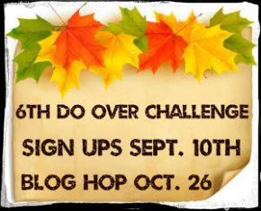 6th Do Over Challenge widget