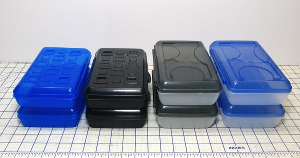 School Supplies offer wonderful things for the crafter. Use Pencil Boxes for craft room storage boxes.