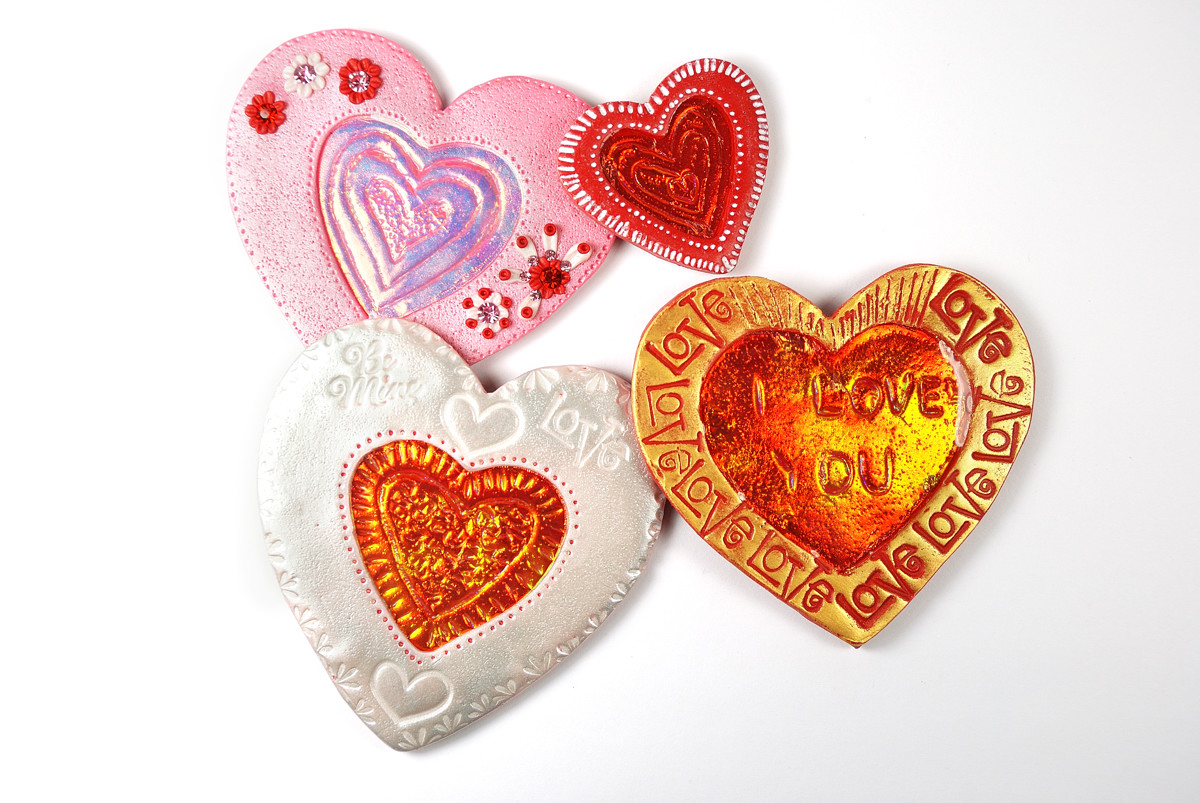 picture about Printable Valentines Hearts named Valentine Middle Printable ClipArt - The Blue Bottle Tree