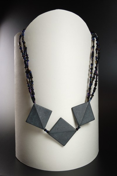 "Necklace made by Jeannie K. Dukic, the ""before"" of the Do Over Challenge"