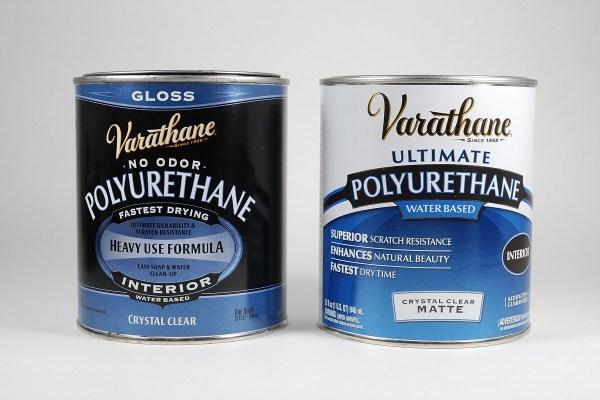 Varathane polyurethane makes a great polymer clay sealer, varnish, and glaze.