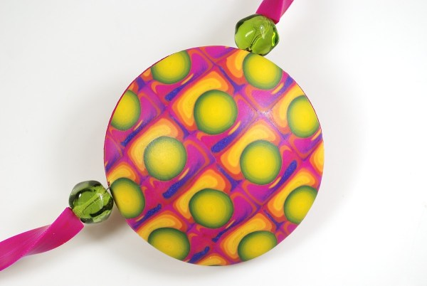 lentil pendant created with the czextruder