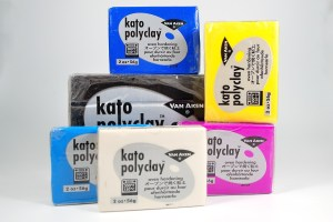 Kato polyclay is one of the best polymer clay brands for caning. Learn more at The Blue Bottle Tree.
