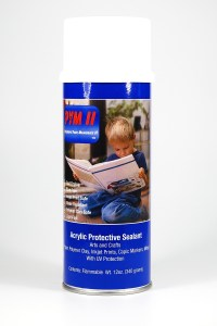 PYM II is a fantastic spray sealer for polymer clay. Read more at The Blue Bottle Tree.