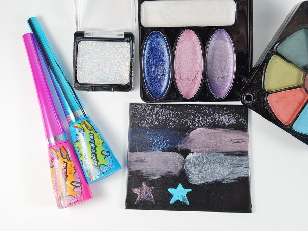 Inexpensive makeup kits can be used with polymer clay.