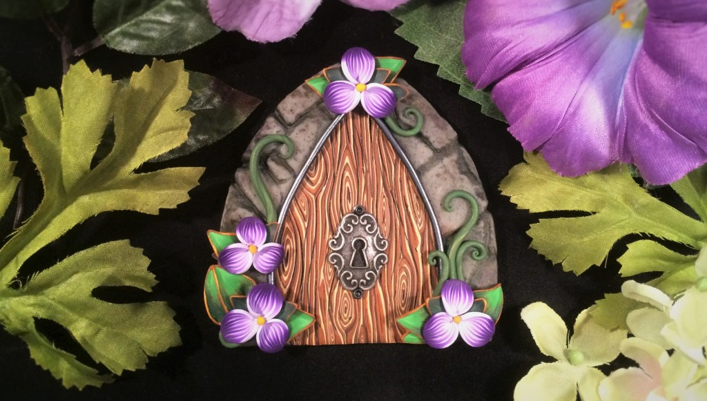 Purple Door by Jennifer Sorensen of Wishing Well Workshop