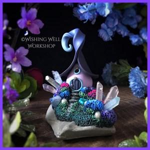 Crystal Cottage by Jennifer Sorensen of Wishing Well Workshop