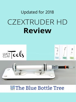 See what's new with this fantastic polymer clay extruder in 2018 in my updated Czextruder review.
