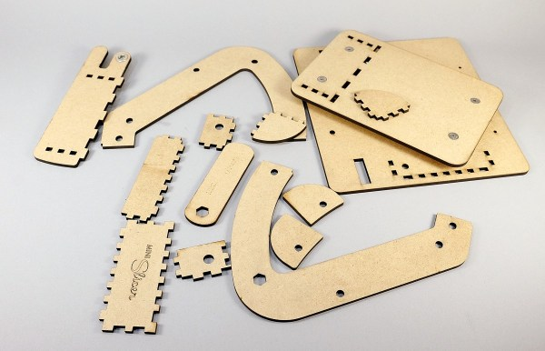 Pieces and parts of the LC Mini Slicer.