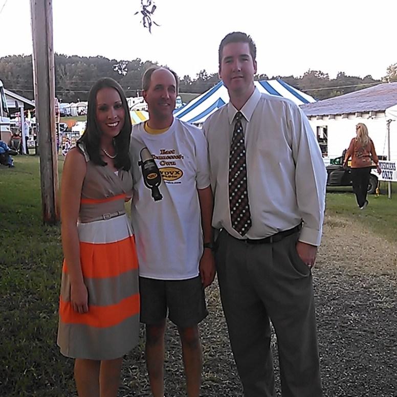 Jeff with Darin & Brooke, 2014