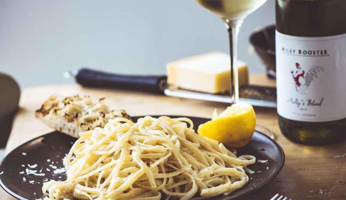 Lemon Parmesan Pasta