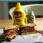 RoughEats Montreal Smoked Meat Sandwich