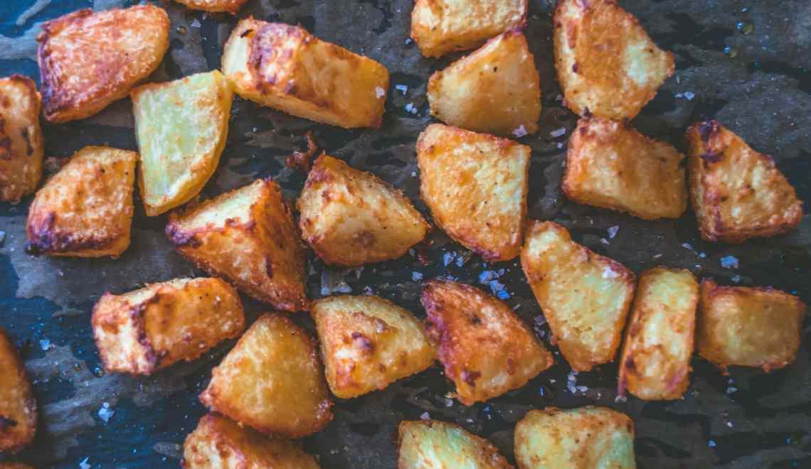 Olive Oil Salt and Pepper Roast Potatoes