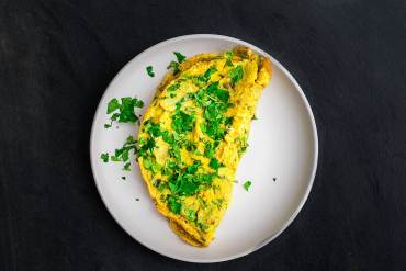 The Bluenosers Masala Omelette