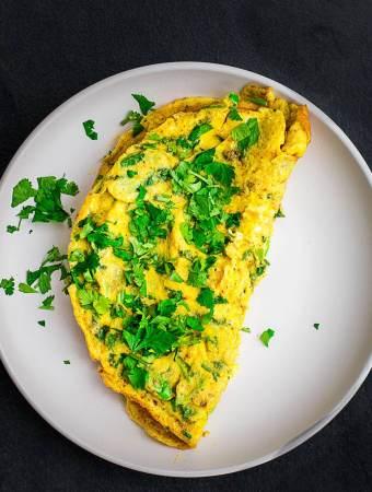 The Bluenosers Masala Omelette