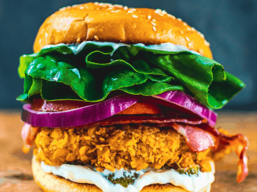 healthy crispy chicken sandwich