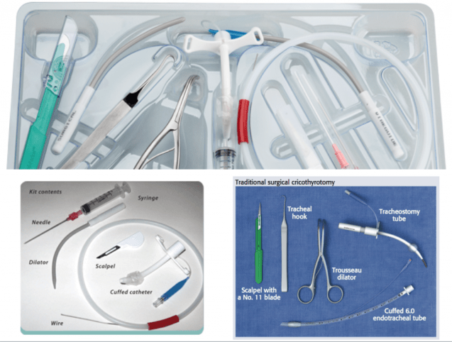 primary surgical airway